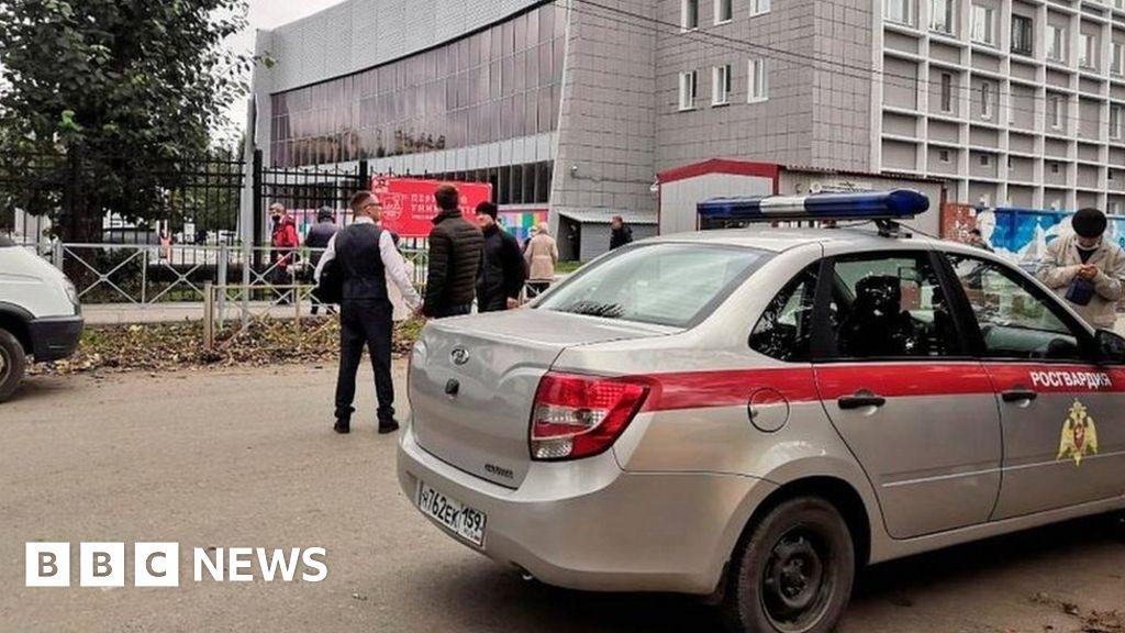 Russia shooting: Gunman kills several at Perm University