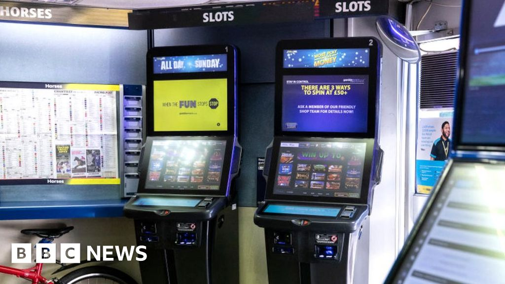 UK gambling machines loaded with AI 'cool off' system