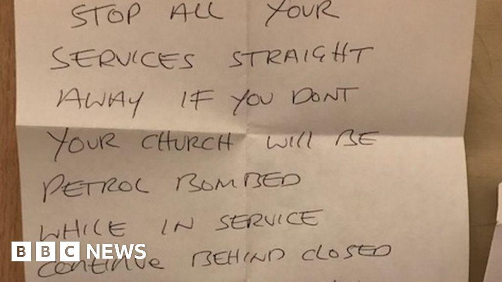 Church is sent 'petrol bomb' threat