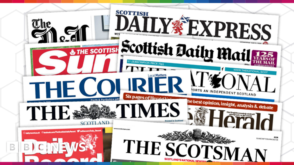 Scotland's papers: Warning for holidaymakers and Trump's new website