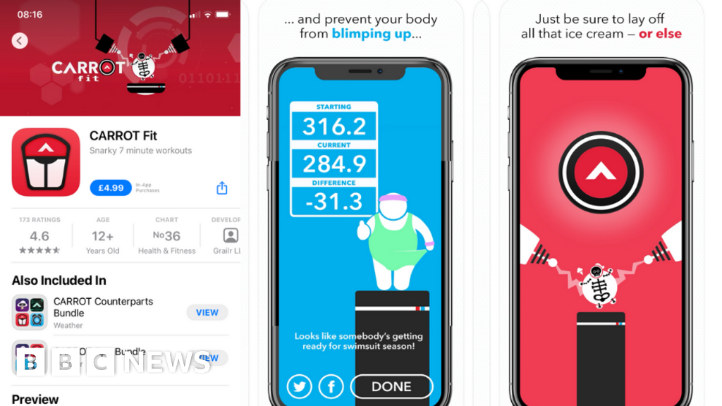 Diet app promoted by Apple harmful, say campaigners