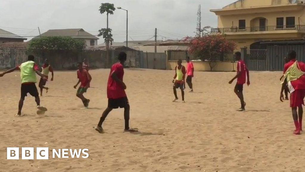 Why A Lagos Slum Is Producing Nigeria S Top Football Talent Bbc News