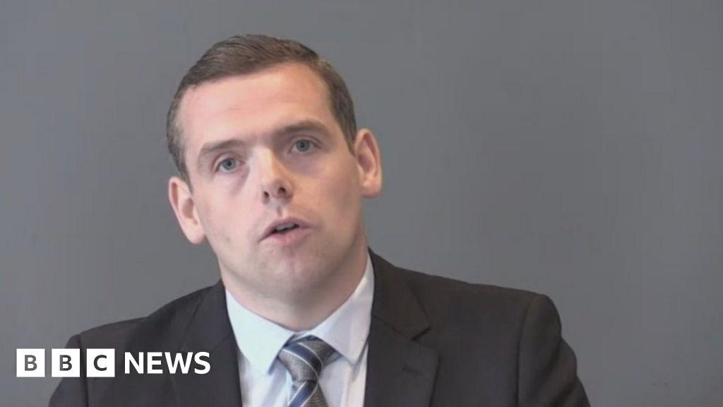 Scottish Conservatives: Douglas Ross launches leadership bid thumbnail