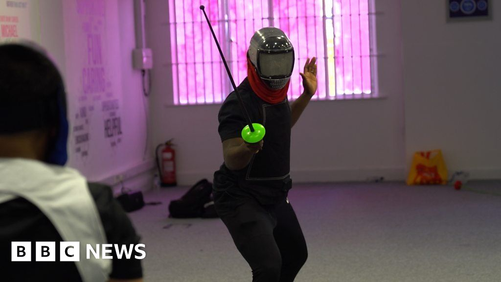 Steven thinks fencing helps people affected by knife crime thumbnail