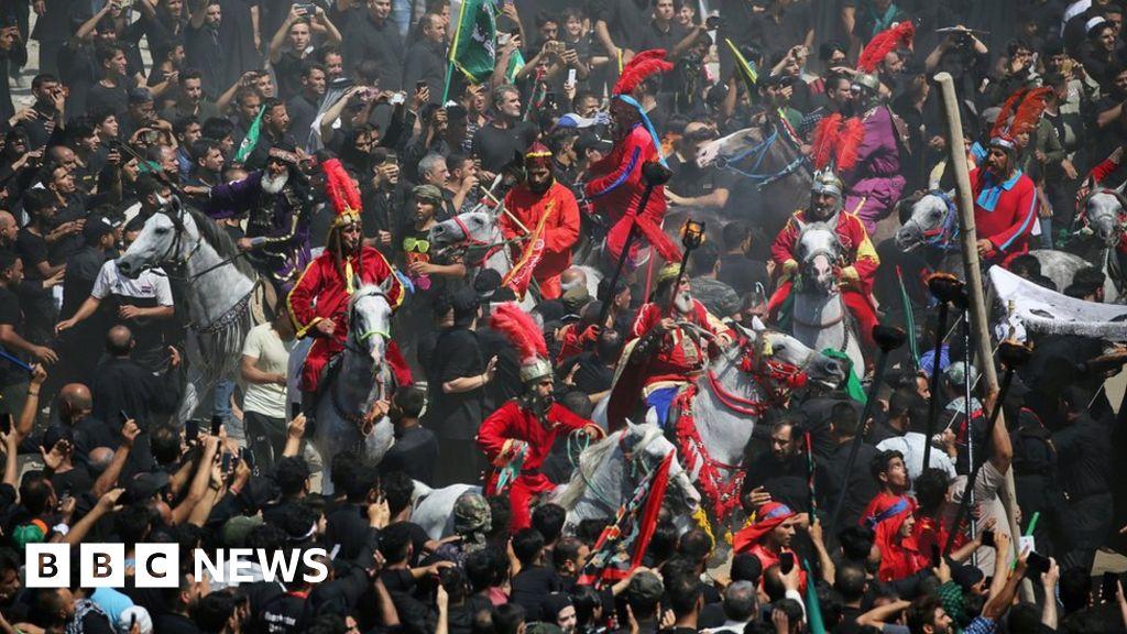 Many dead in Iraq Shia shrine stampede