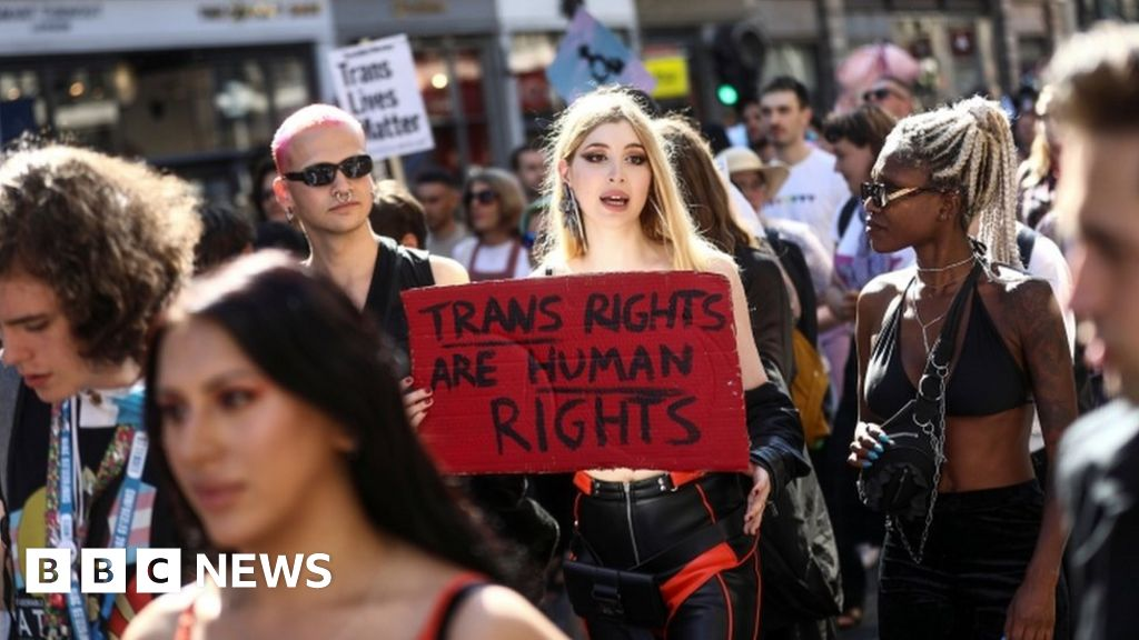 London was the first Trans-Pride-support  overwhelming