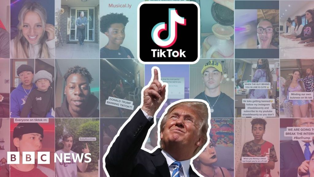 TikTok: What TikTokers make of Trump's ban threat - BBC News