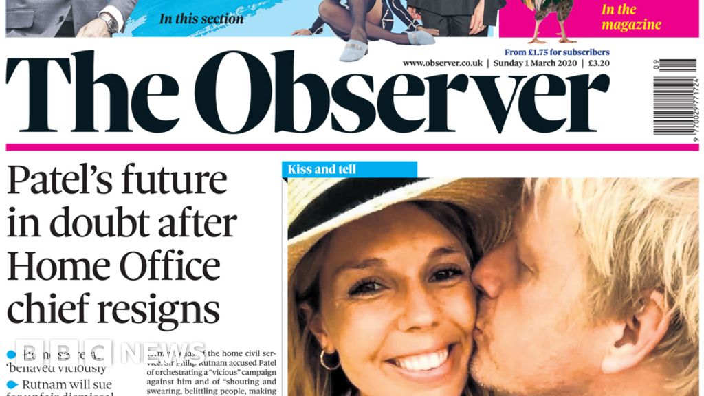 """Headlines: """"Chaos"""" in the home office and No 10 baby on the way"""