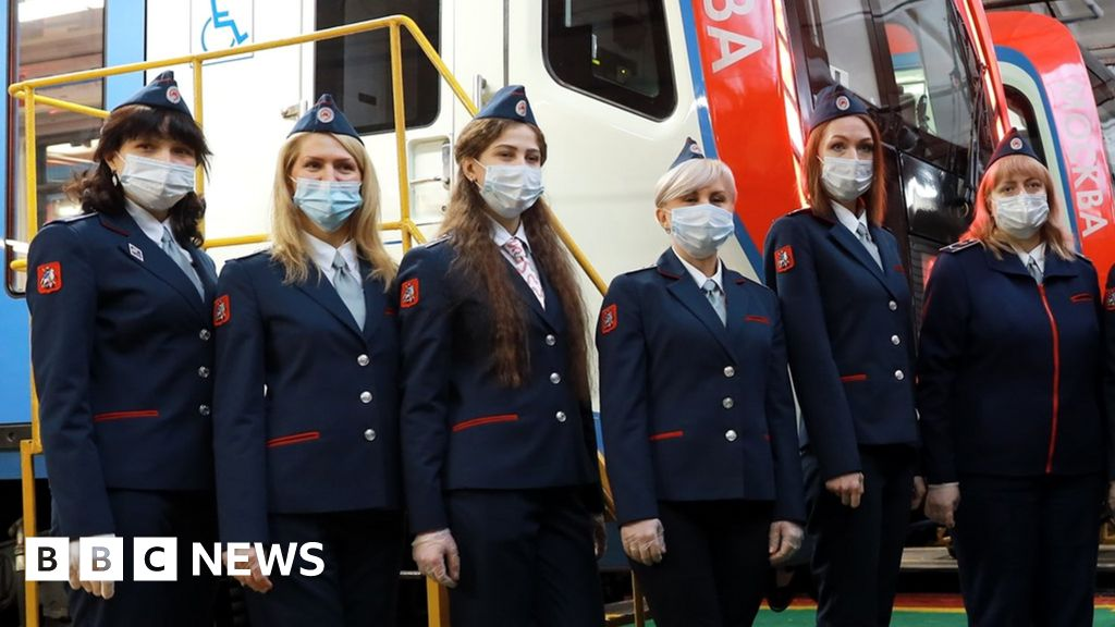 Twelve women have joined Moscow's underground network as train drivers
