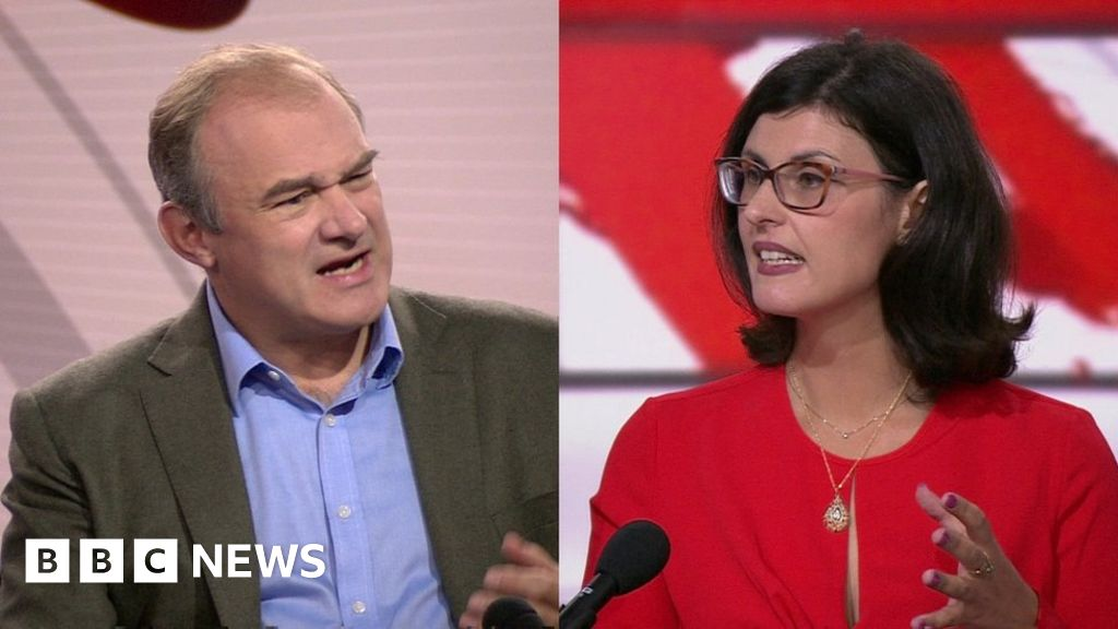 Liberal Democrats leadership contest: Ed Davey and Layla Moran pitch for votes