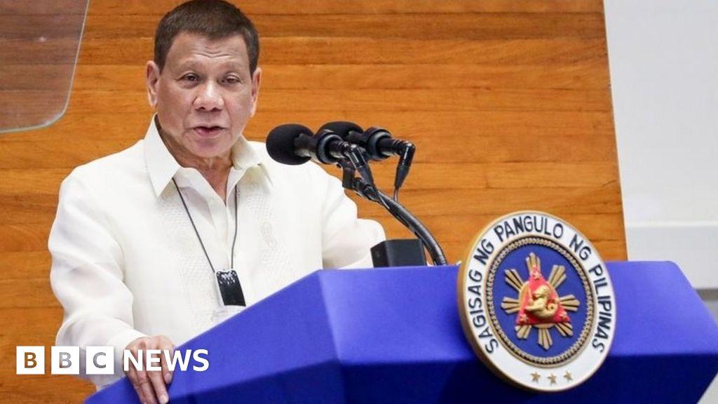 Duterte: 'I'm not joking - clean masks with petrol'