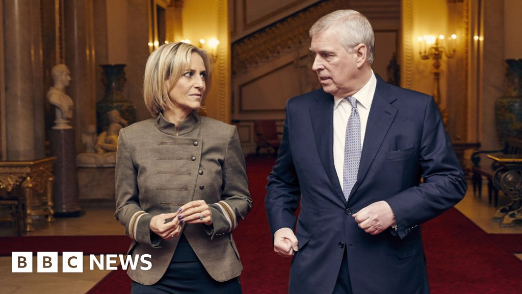 Prince Andrew interview wins Maitlis RTS award - BBC News