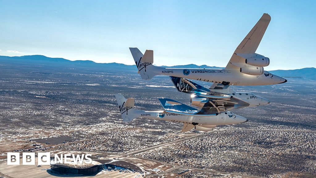 Virgin Galactic: Unity rocket ship moves to operational base