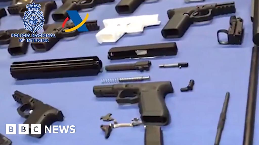 Spain dismantles a 3D-printed weapons workshop