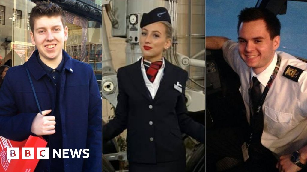 Tribute BA crew are paid to be killed on new year s eve crash