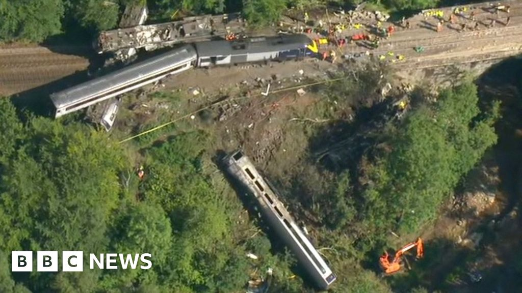 Stonehaven train derailment: Crash investigators confirm train struck landslip