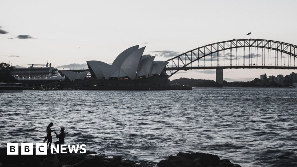 Tourist captures Sydney couple's marriage proposal
