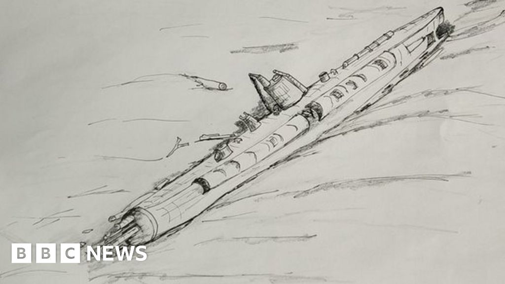 German WW1 U-boat found off Belgian coast - BBC News