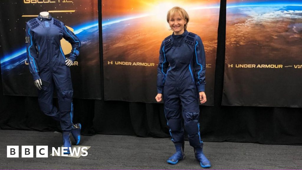 The woman who paid $250,000 to go into space