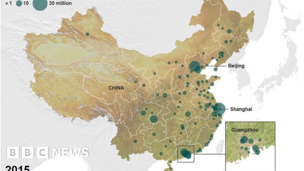 Cement and pig consumption reveal China\'s huge changes - BBC News