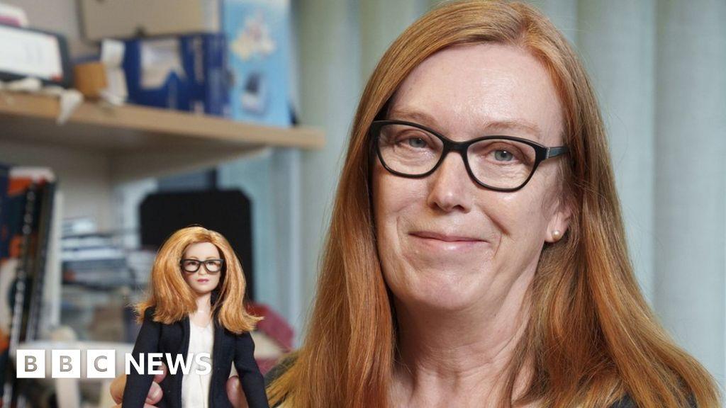 Barbie of Oxford Covid vaccine designer Dame Sarah Gilbert created