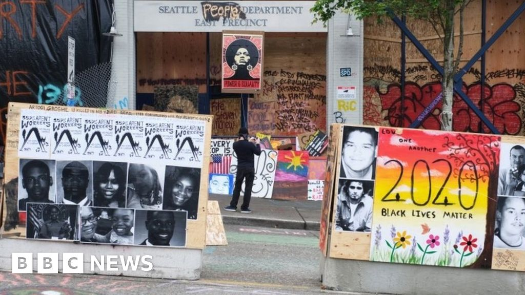 Seattle to end police-free protest zone after shootings - BBC News