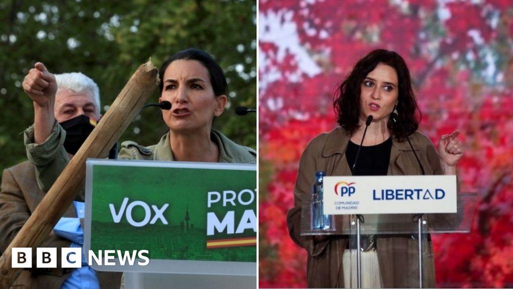 Spain's far-right Vox eye share of power in Madrid