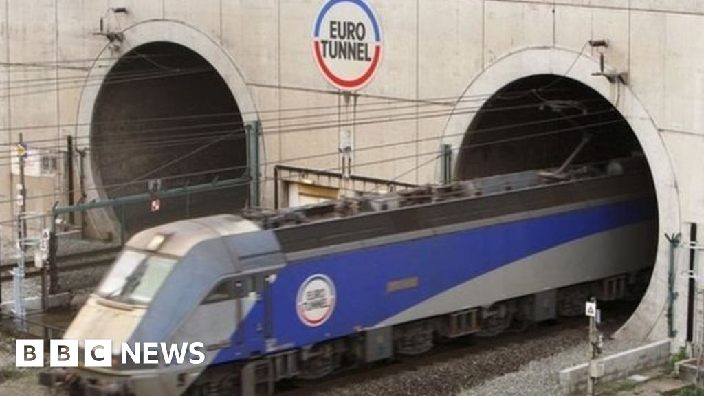 Calais Migrant Crisis Man Found On Eurotunnel Train Roof Dies