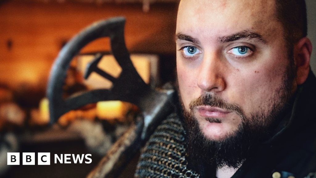 'Being a Viking warrior helped me find my faith'