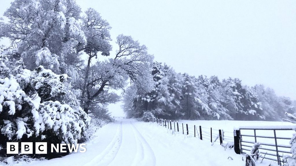 Storm Christoph: Snow warning in south-east Scotland upgraded
