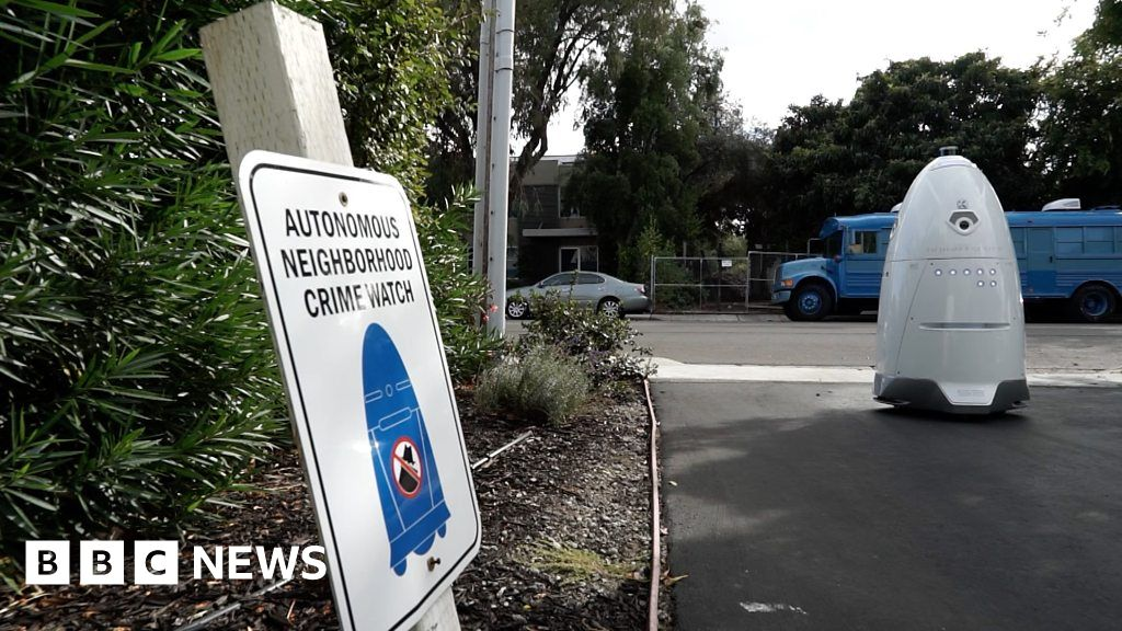 Robots roll around San Francisco