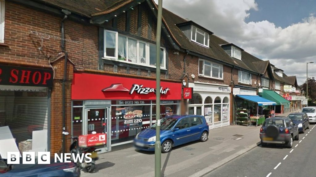 Epsom Pizza Hut Rape And Stabbing Suspect Charged Bbc News