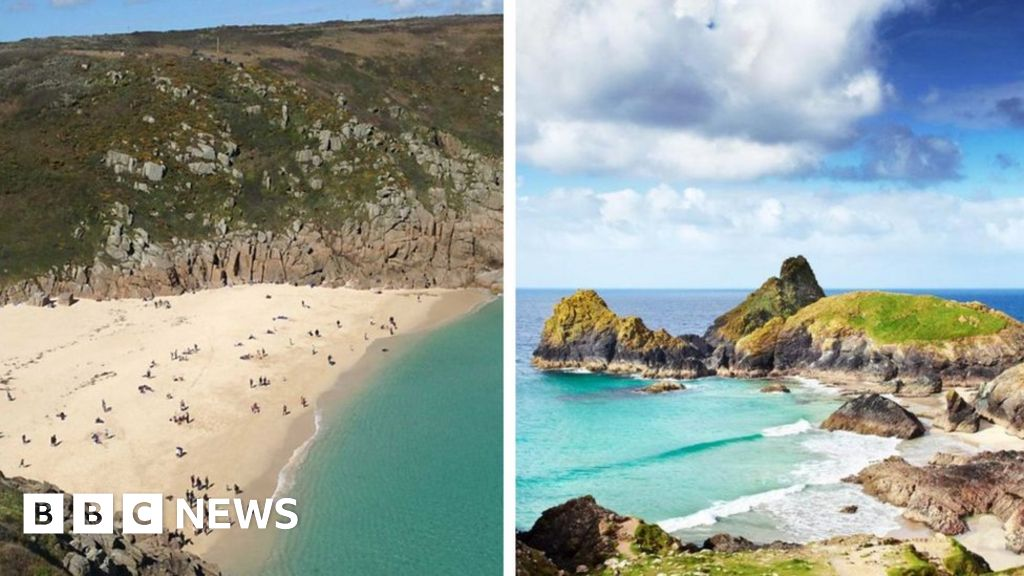 Cornwall hit by 'tourist overcrowding' amid UK heatwave ...