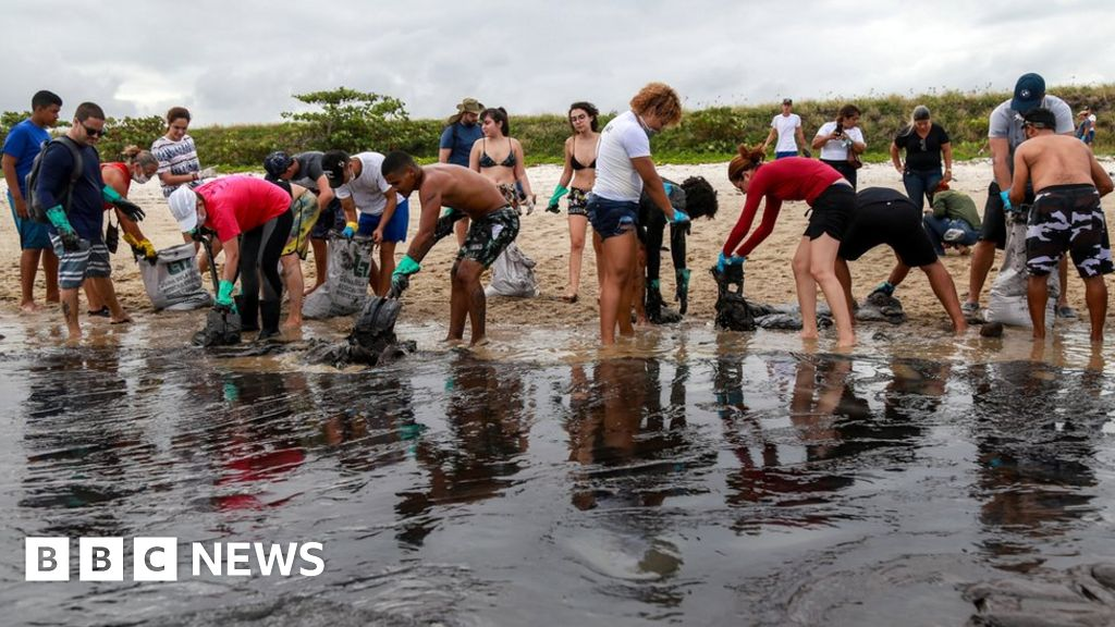 Brazil oil spill: Where has it come from?