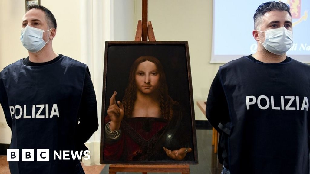 Weird Italy _116577029_hi065259171 Stolen 500-year-old painting found in Naples cupboard What happened in Italy today
