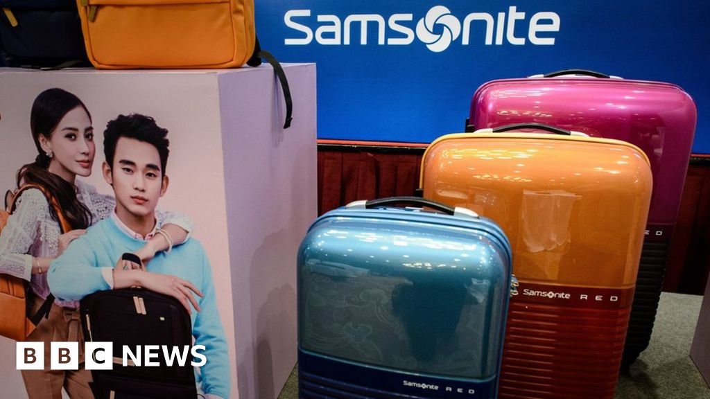 Samsonite accused of 'massaging profits'