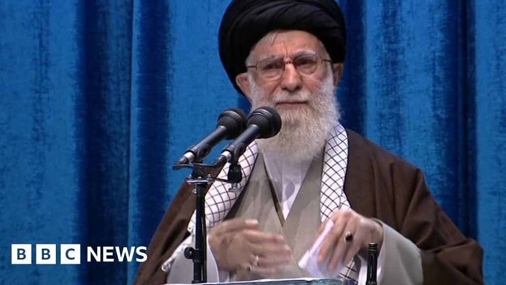 Iran plane crash: Khamenei defends military in rare address