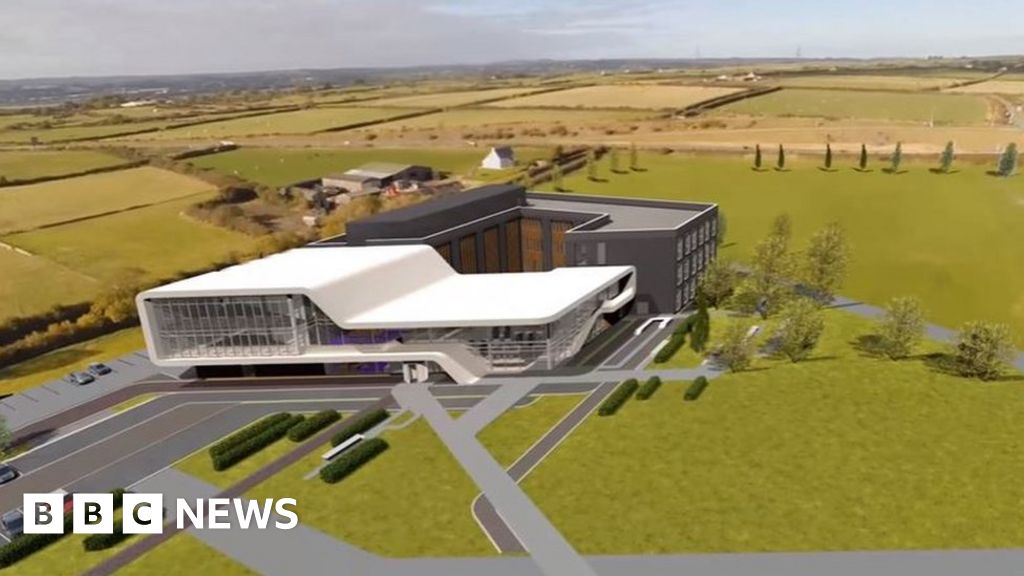 Creation of Menai Science Park on Anglesey begins - BBC News