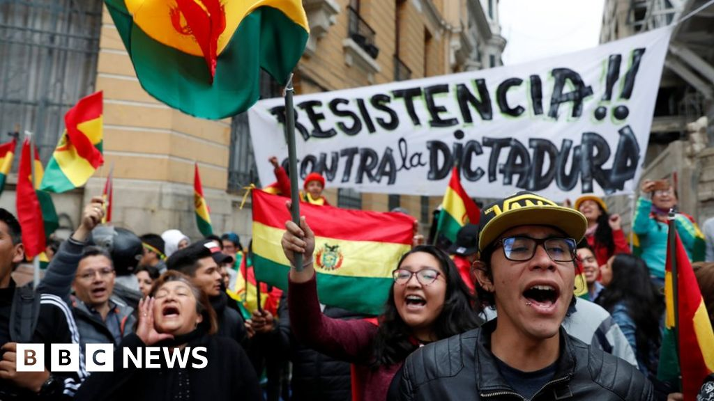 Bolivia protests: Ruling party urges support for Evo Morales