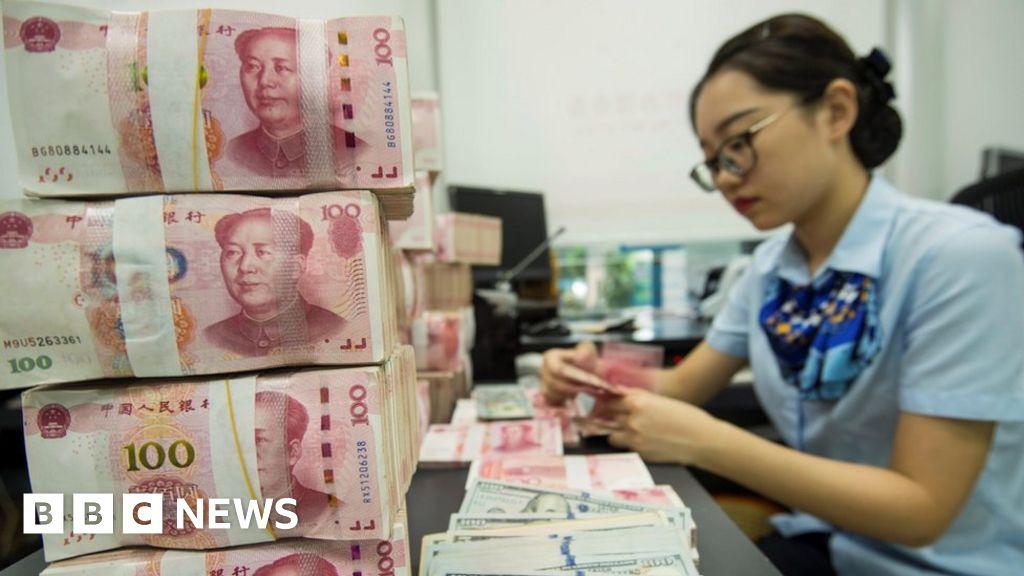 "US-China ""currency manipulator returns"" label"