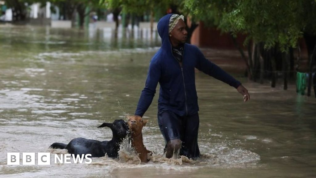 Deadly storms Marco and Laura plough through Caribbean killing 12