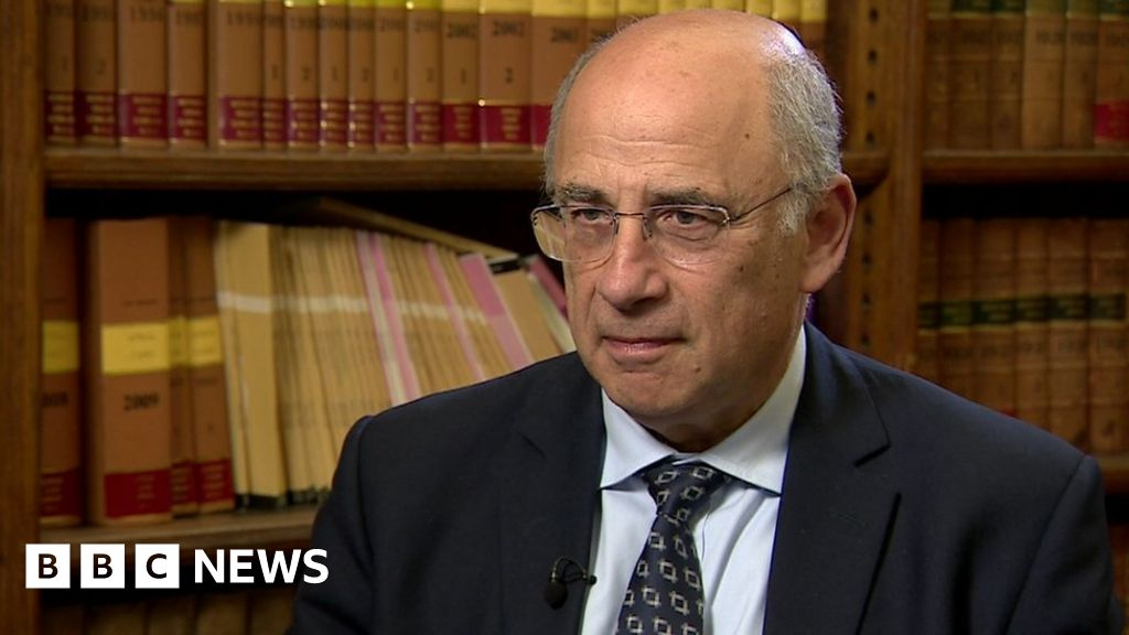 Sir Brian Leveson warns crimes are not being prosecuted   BBC News