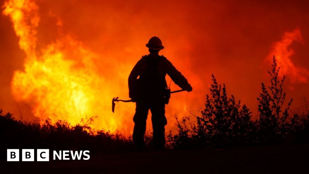 Worries over emissions from wildfires