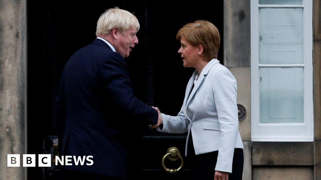 Covid: Boris Johnson will not meet Nicola Sturgeon during Scotland trip