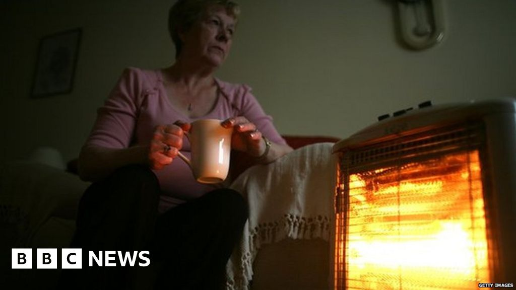 Patients 'sent home to no heat or light'