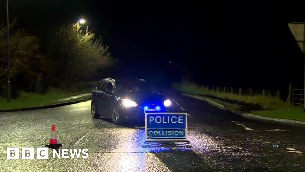 Ballymoney road crash leaves two people dead