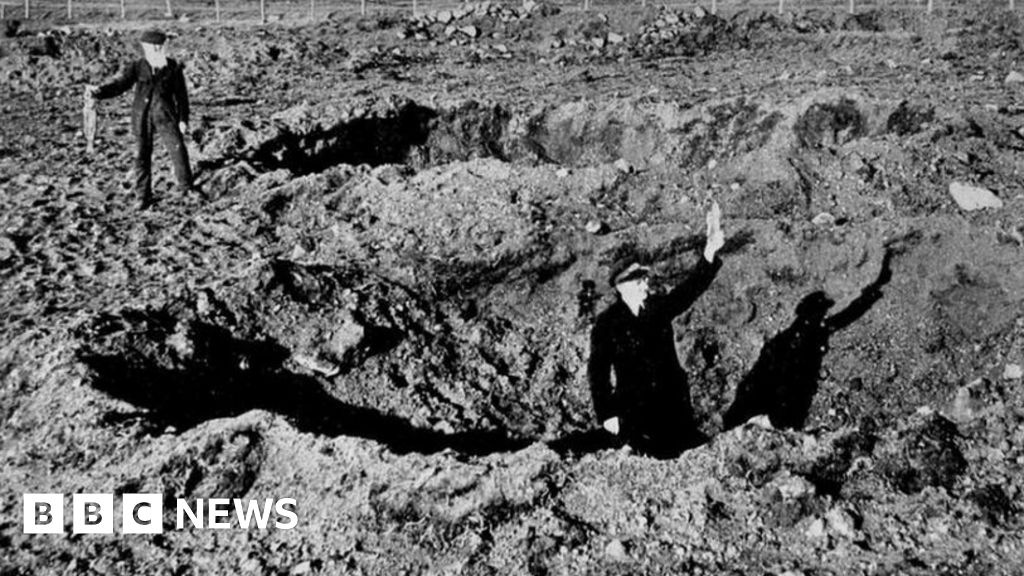 A bomb, a song, a rabbit - the first WW2 bombs to fall on British soil