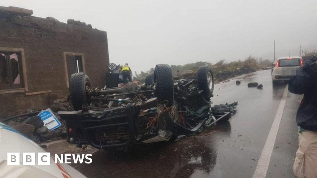 Photo of Pantelleria: Two killed as tornado hits Italian island   BBC News