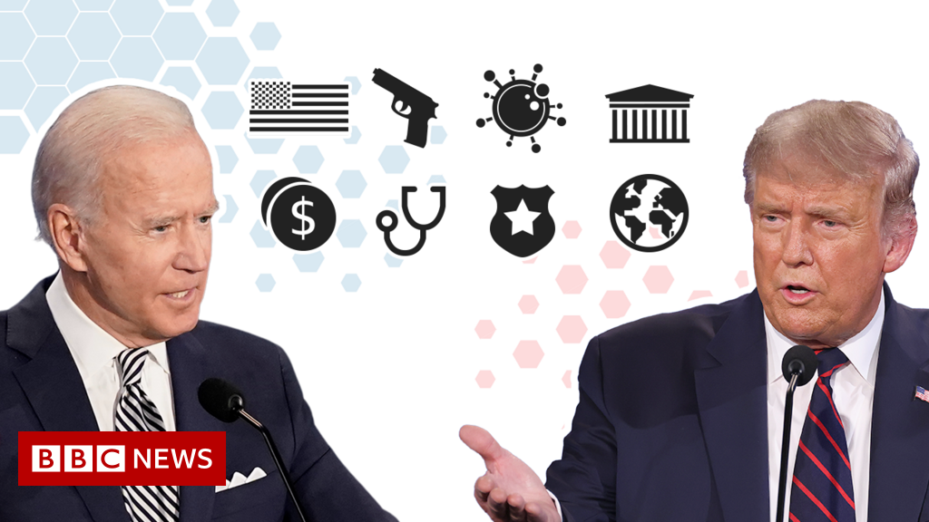 US election 2020: What are Trump's and Biden's policies?