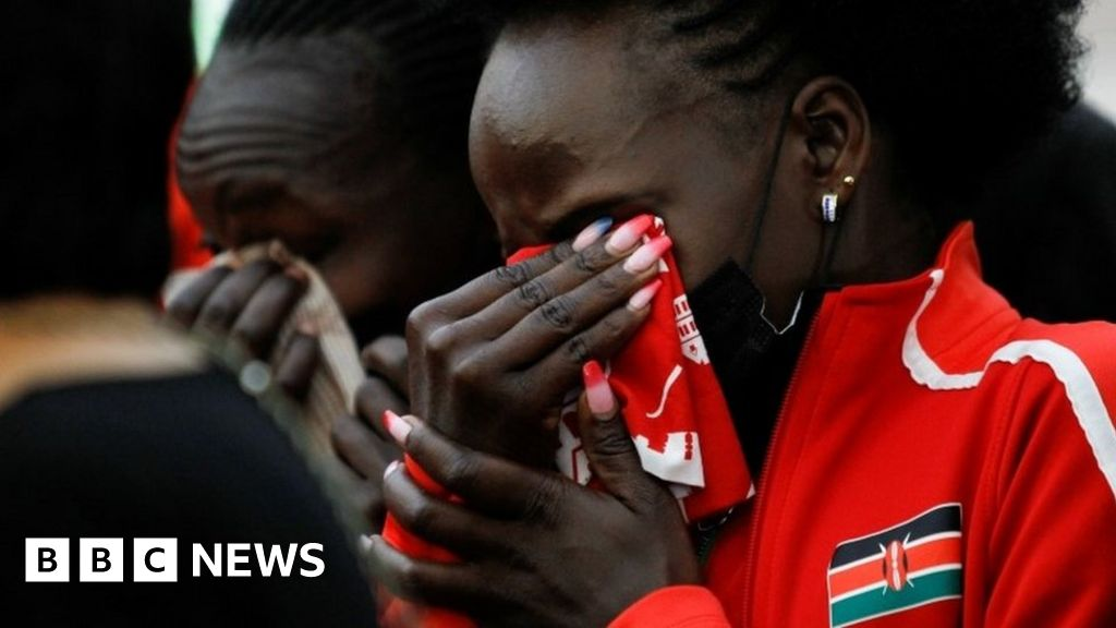 Agnes Tirop: Mourners pay respects to running star